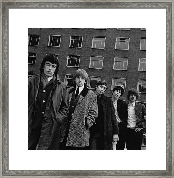 The Rolling Stones Framed Print by Evening Standard