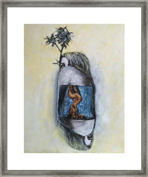 The Root Of Stranger Things Framed Print