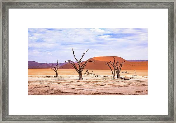 The Sands Of Time Framed Print