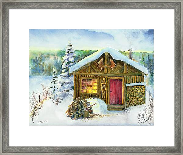 The Shack Framed Print