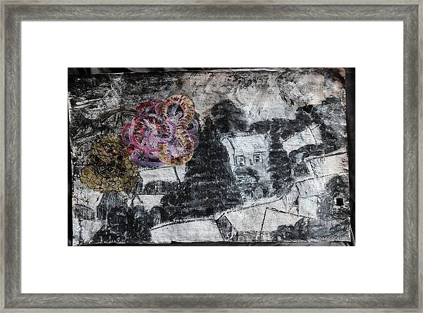 The Slow And Winding Tale Of Destruction Framed Print