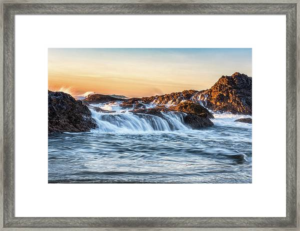 The Small Things Framed Print