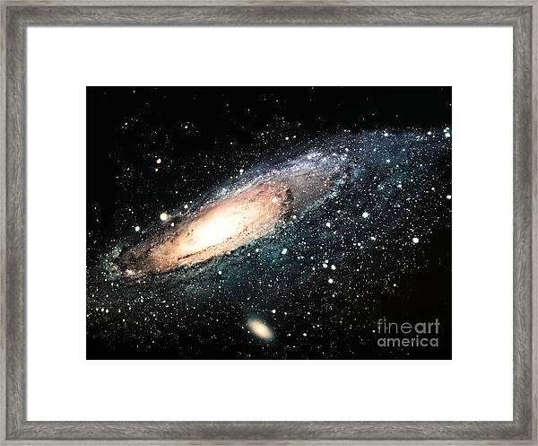 The Spiral Galaxy Framed Print