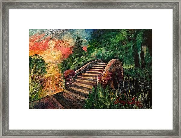 The Spirit Bridge At City Park  Framed Print