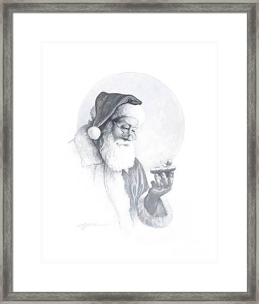 The Spirit Of Christmas Vignette Framed Print