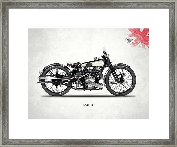 The Ss 100 1925 Framed Print