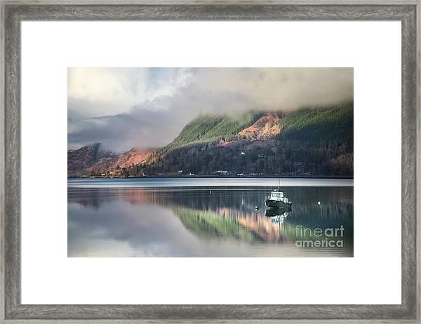 The Stillness Framed Print