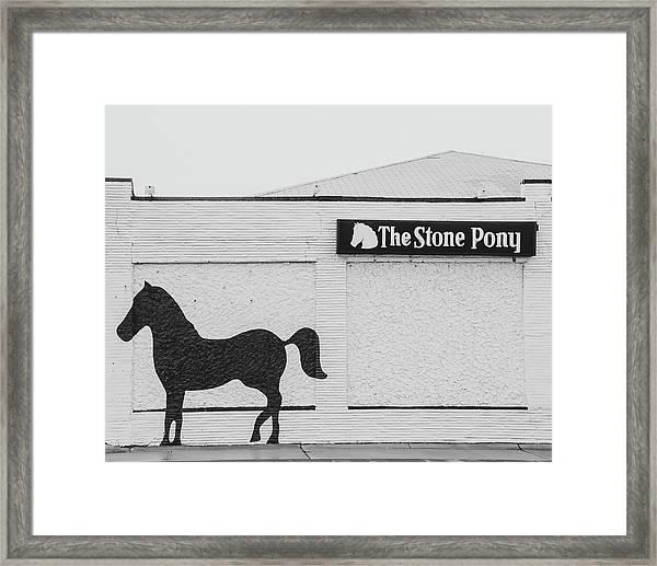 The Stone Pony - Asbury Park Framed Print