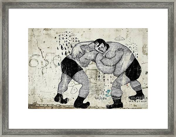 The Symbolic Image Of People Who Are Framed Print