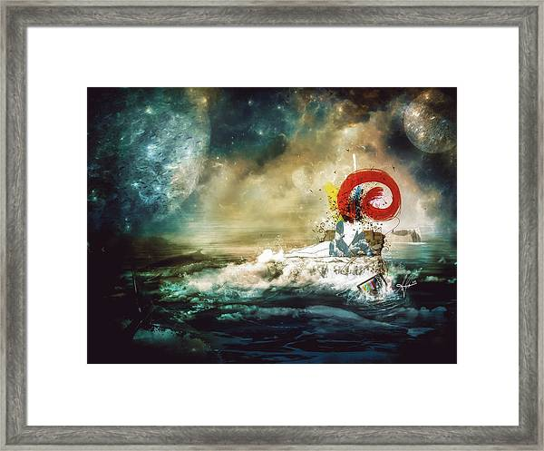 The Traffic Of The Whales Framed Print