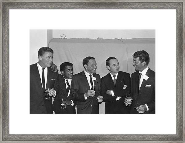The Usual Rat Pack Framed Print