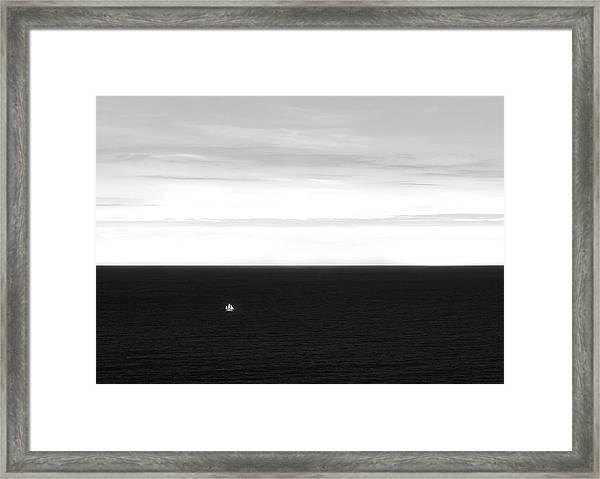 The Vastness Framed Print