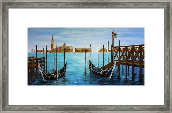The Venetian Phoenix Framed Print