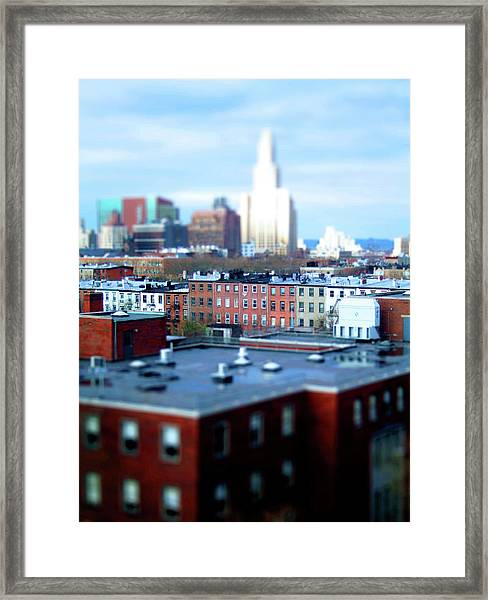 The View Brooklyn Framed Print