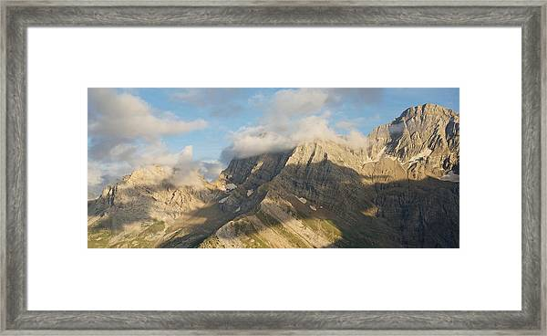 The View From Pic De Tentes Framed Print