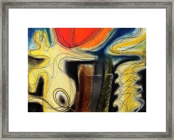 The Whirler Framed Print