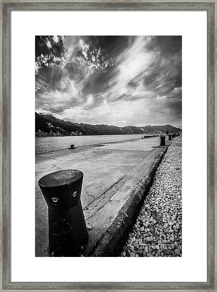 The Winter Sea #3 Framed Print