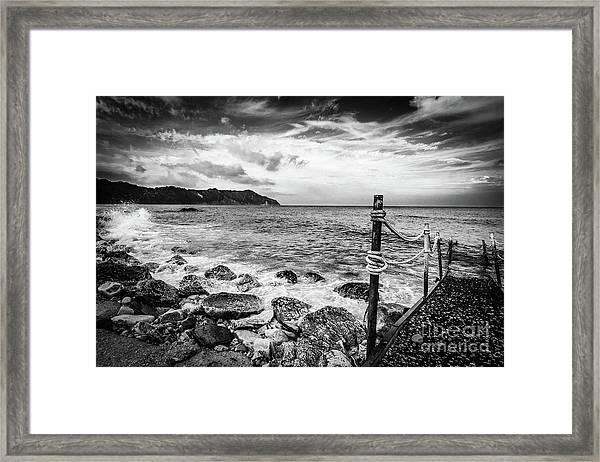 The Winter Sea #4 Framed Print