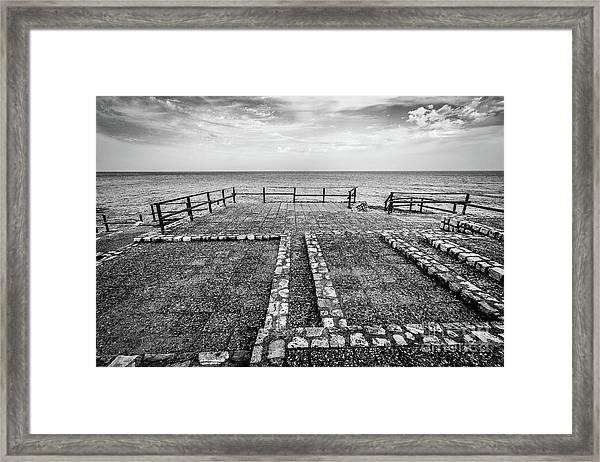 The Winter Sea #5 Framed Print