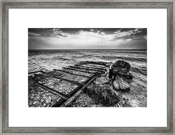 The Winter Sea #6 Framed Print