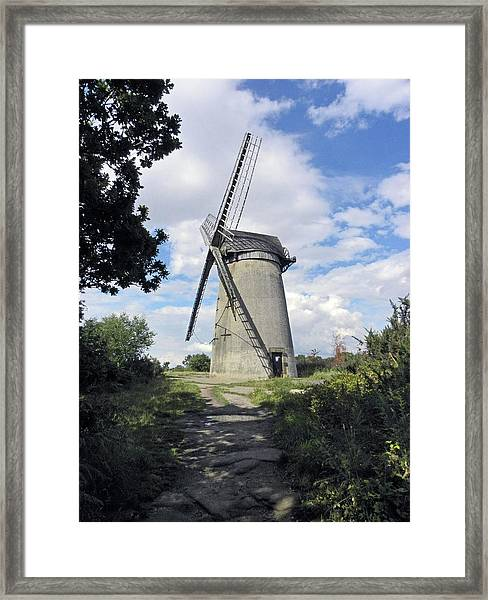 The Wirral. The Windmill On Bidston Hill. Framed Print