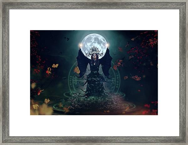 The Witch Framed Print