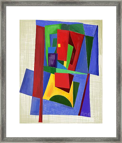The Work Of Contemporary Art, Which Framed Print