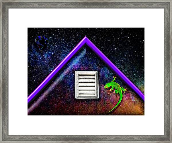There Must Be Some Way Out Of Here Framed Print