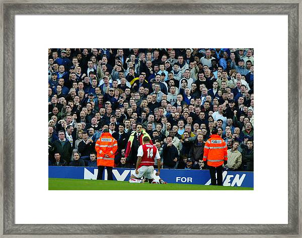 Thierry Henry Of Arsenal Framed Print