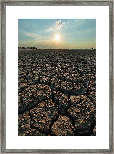 Thirsty Ground Framed Print