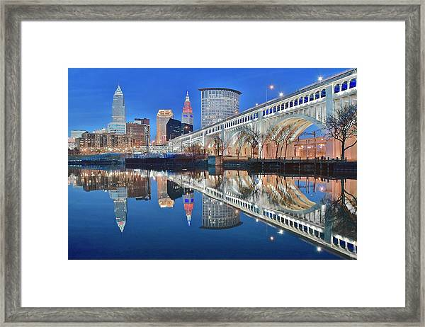 This Is Cleveland II Framed Print