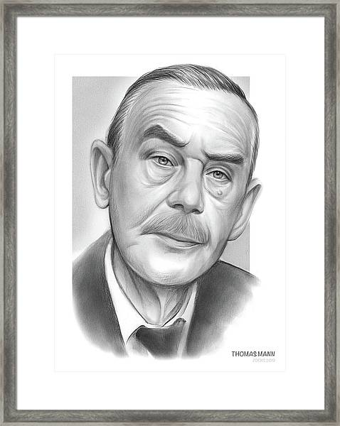 Thomas Mann Framed Print