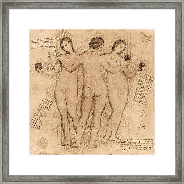 Three Graces - II Framed Print