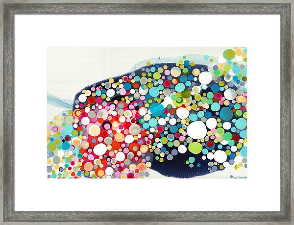Thrill Of The Ride Framed Print