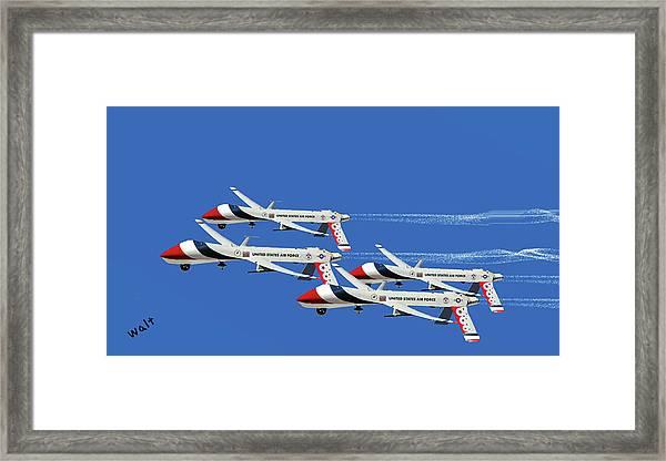 Thunderbird Drones Framed Print