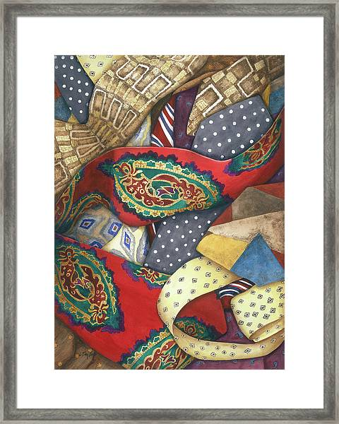 Tie One On Framed Print