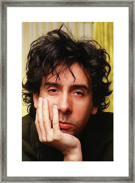 Tim Burton Portrait Session Framed Print