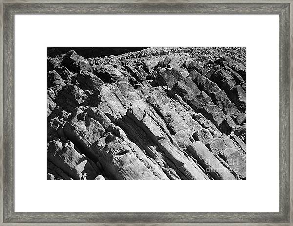 Time And Tide Framed Print