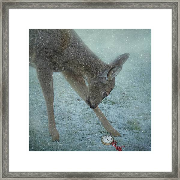 Time For Christmas Framed Print