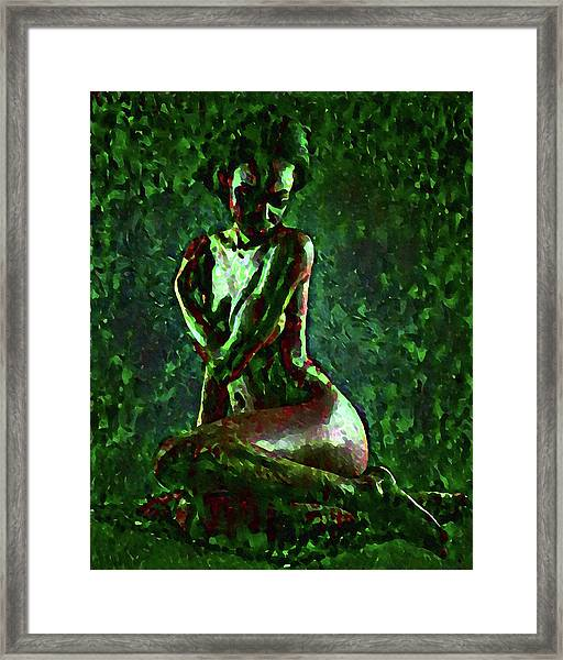Timid Wilderness Framed Print