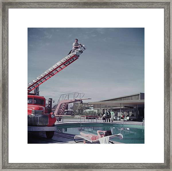 To Any Lengths Framed Print by Hulton Archive