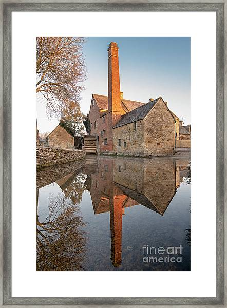 To The Mill Framed Print by Tim Gainey