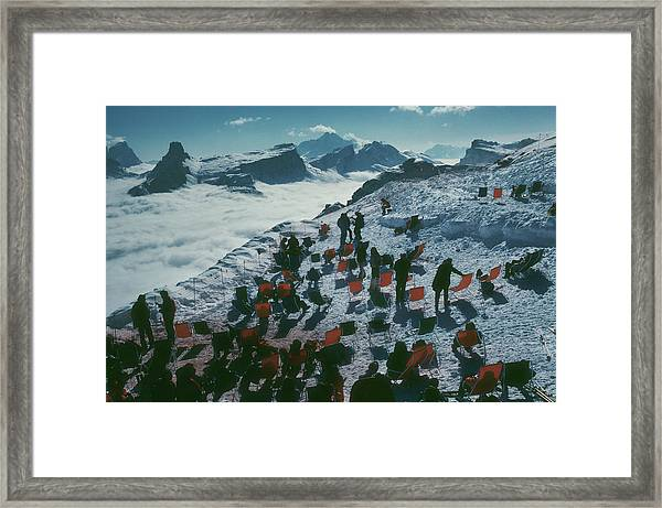 Tofana Ledge Framed Print