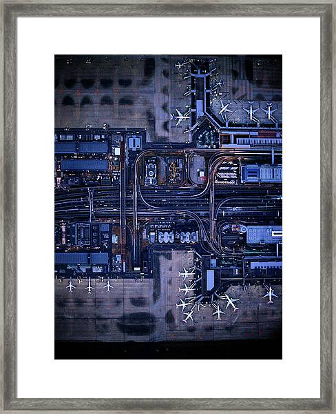 Tokyo International Airporthaneda Framed Print