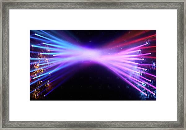 Tokyo Lights Framed Print