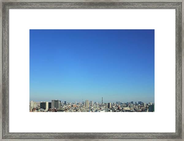 Tokyo View Framed Print