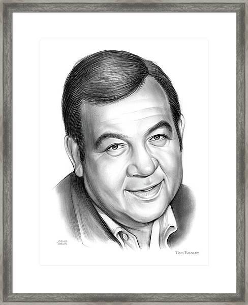 Tom Bosley Framed Print