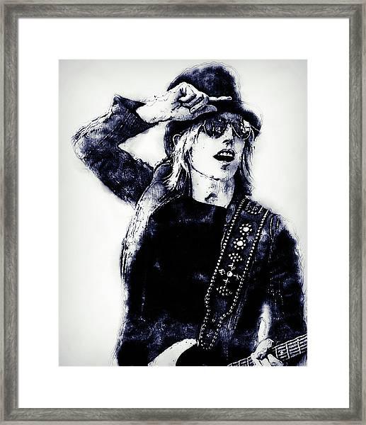 Tom Petty - 30 Framed Print