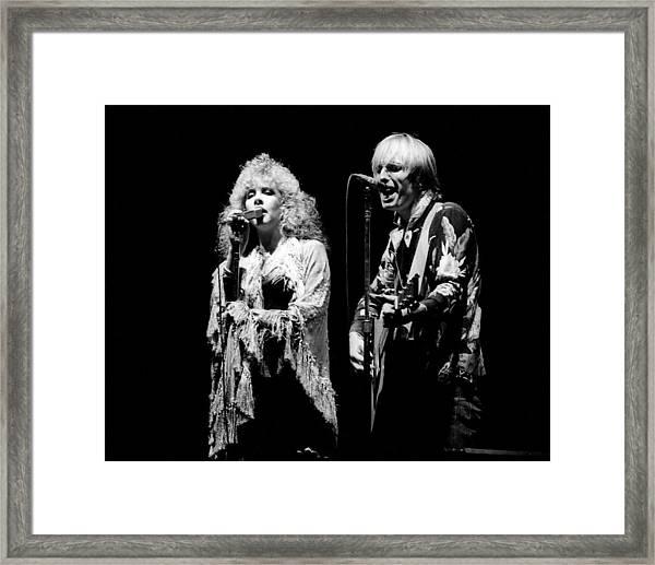 Tom Petty Live Framed Print
