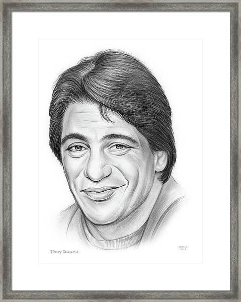 Tony Danza Framed Print